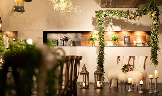 岡山の結婚式場 割烹旅館 ルーツ 空気感 ブティックホテル 喧噪 にぎやか 華やか