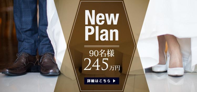 New Plan 250万円 90名 岡山の結婚式場 ザ マグリット