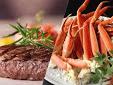ステーキ&蟹フェアー