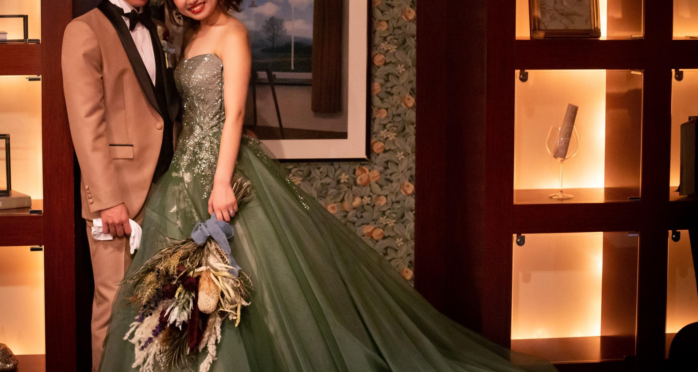 大人気のカラードレス!