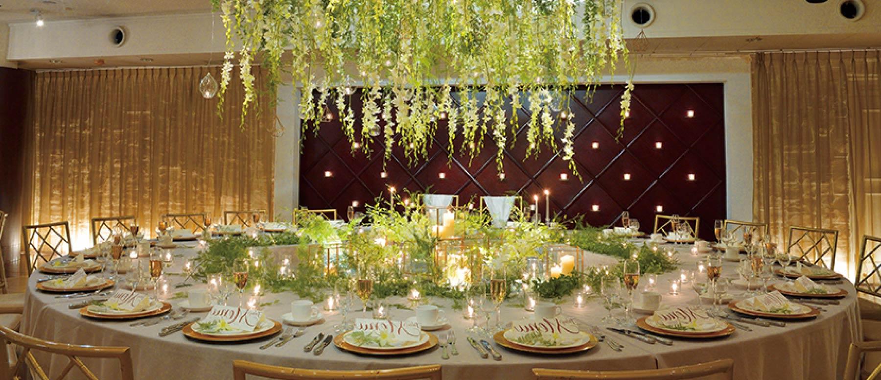 ザ マグリット | 岡山県岡山市の結婚式場・パーティーウェディング・おもてなしウェディング 岡山市 結婚式 披露宴 マグリット バンケット