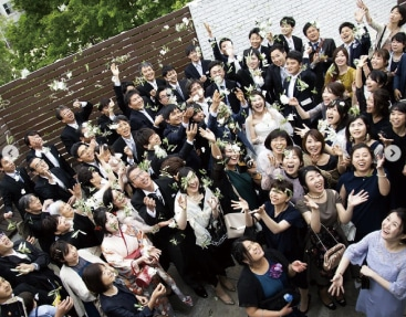 ザ マグリット | 岡山県岡山市の結婚式場・パーティーウェディング・おもてなしウェディング 列席者全員を包み込む3