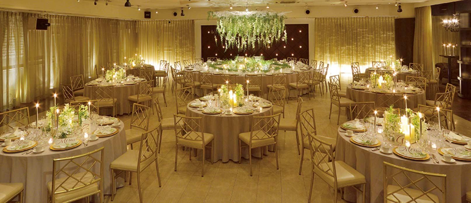 ザ マグリット | 岡山県岡山市の結婚式場・パーティーウェディング・おもてなしウェディング クラブモーガン