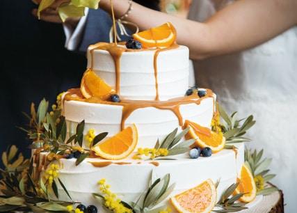 ザ マグリット | 岡山県岡山市の結婚式場・パーティーウェディング・おもてなしウェディング オリジナルウェディングケーキ5