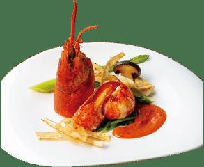 ザ マグリット | 岡山県岡山市の結婚式場・パーティーウェディング・おもてなしウェディング マグリットのフュージョン料理4