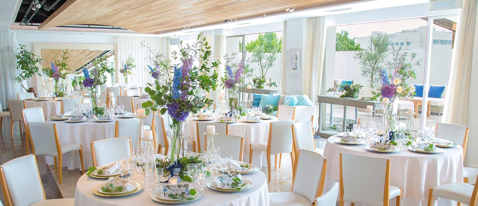 ザ マグリット | 岡山県岡山市の結婚式場・パーティーウェディング・おもてなしウェディング リバティ・ペントハウス