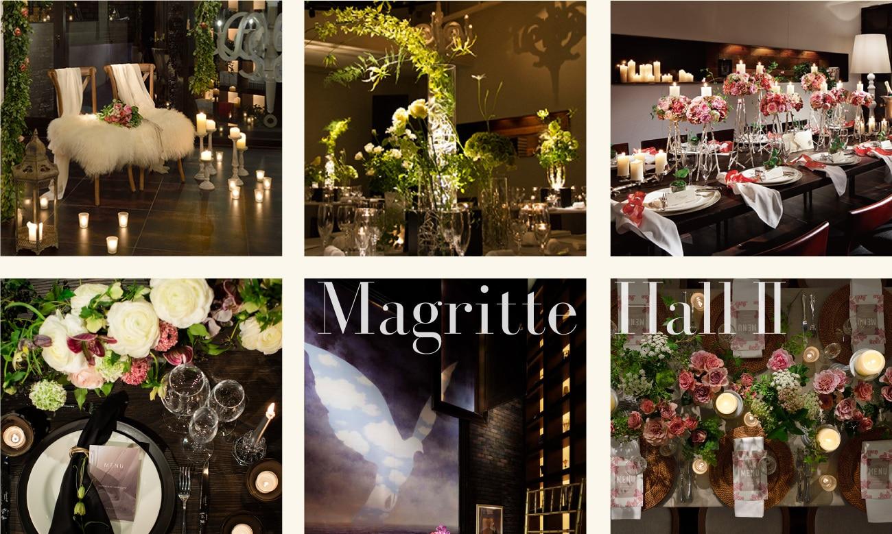 ザ マグリット | 岡山県岡山市の結婚式場・パーティーウェディング・おもてなしウェディング マグリットホール2-5