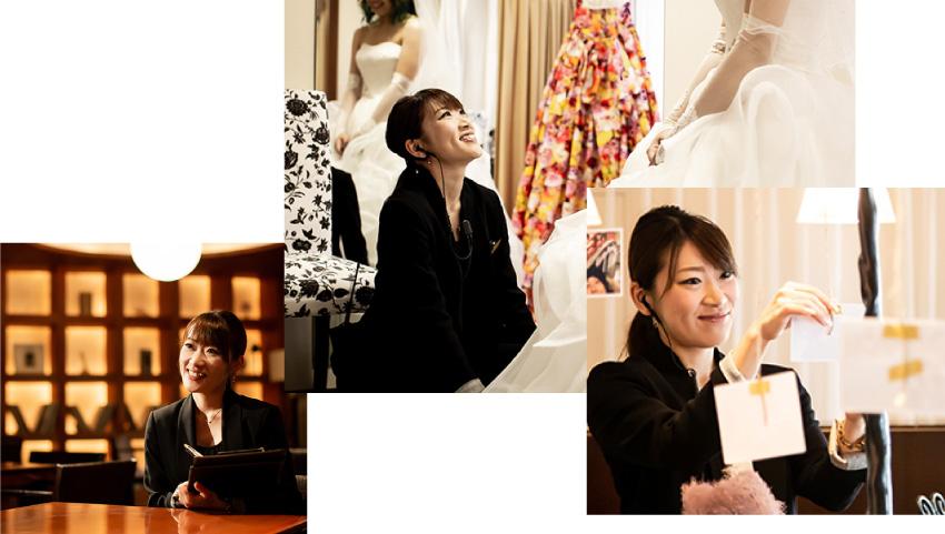 ザ マグリット | 岡山県岡山市の結婚式場・パーティーウェディング・おもてなしウェディング ウェディング・プランナー3