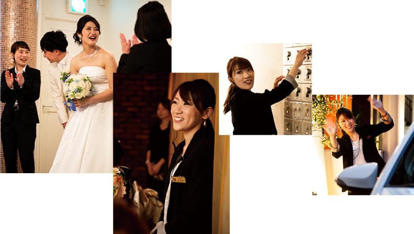 ザ マグリット | 岡山県岡山市の結婚式場・パーティーウェディング・おもてなしウェディング ウェディング・プランナー4