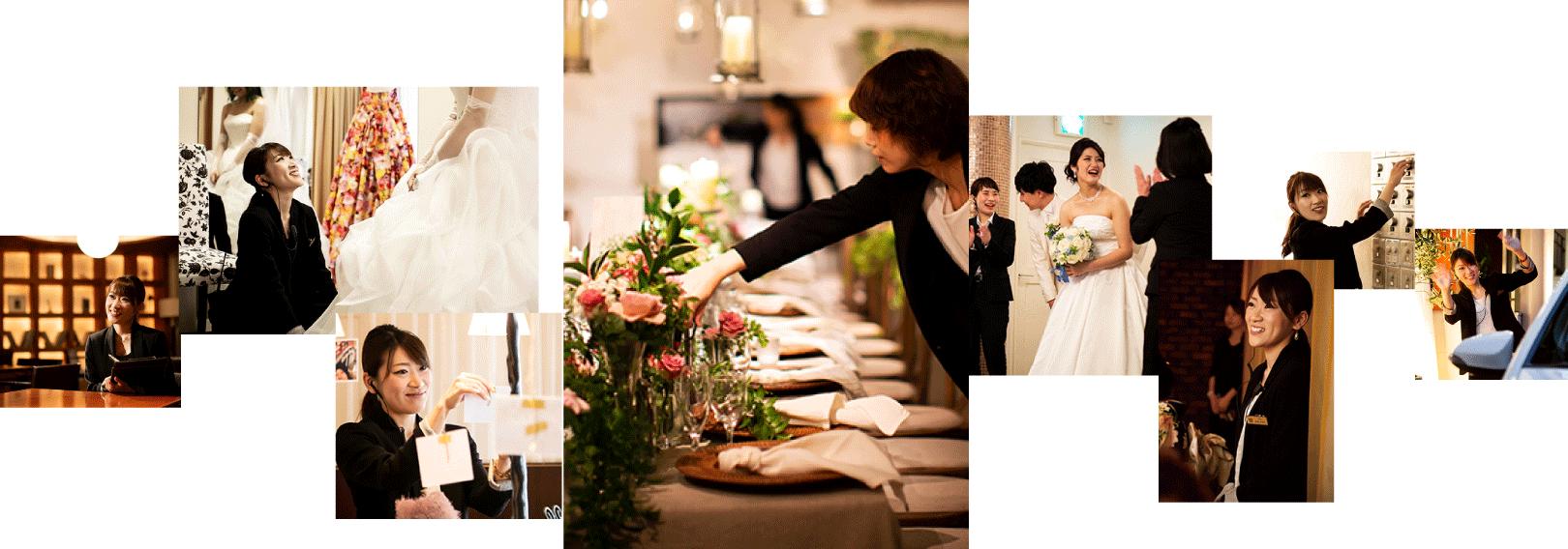 ザ マグリット | 岡山県岡山市の結婚式場・パーティーウェディング・おもてなしウェディング ウェディング・プランナー2