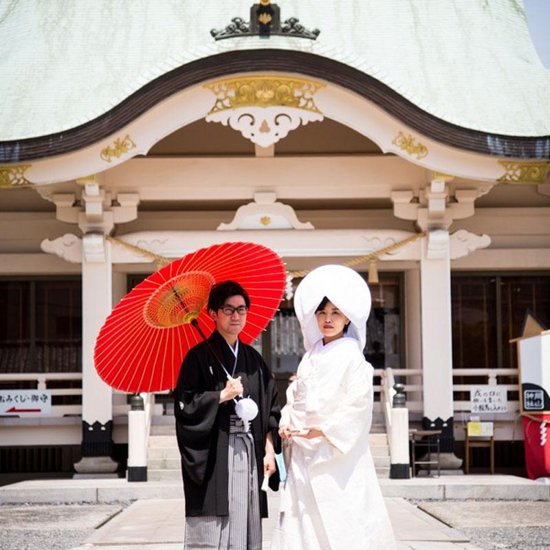 マグリット ウェディング フェアー 【神社婚プラン】 後楽園・岡山神社・吉備津彦神社・館内神殿などサポート